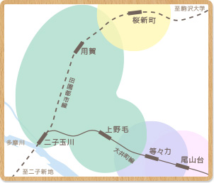 対応エリア図